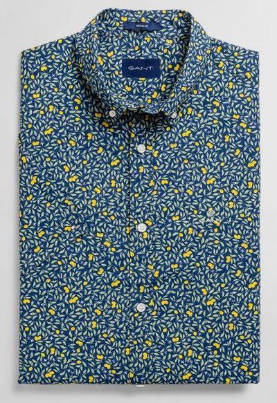 Chemise fantaisie à fleurs