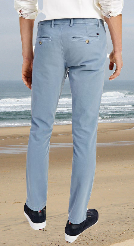 Chino structuré $6806