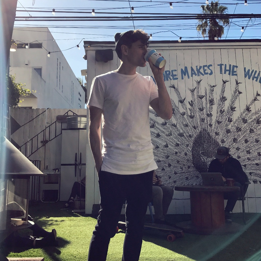 Mike Tompkins @ Toms Coffee