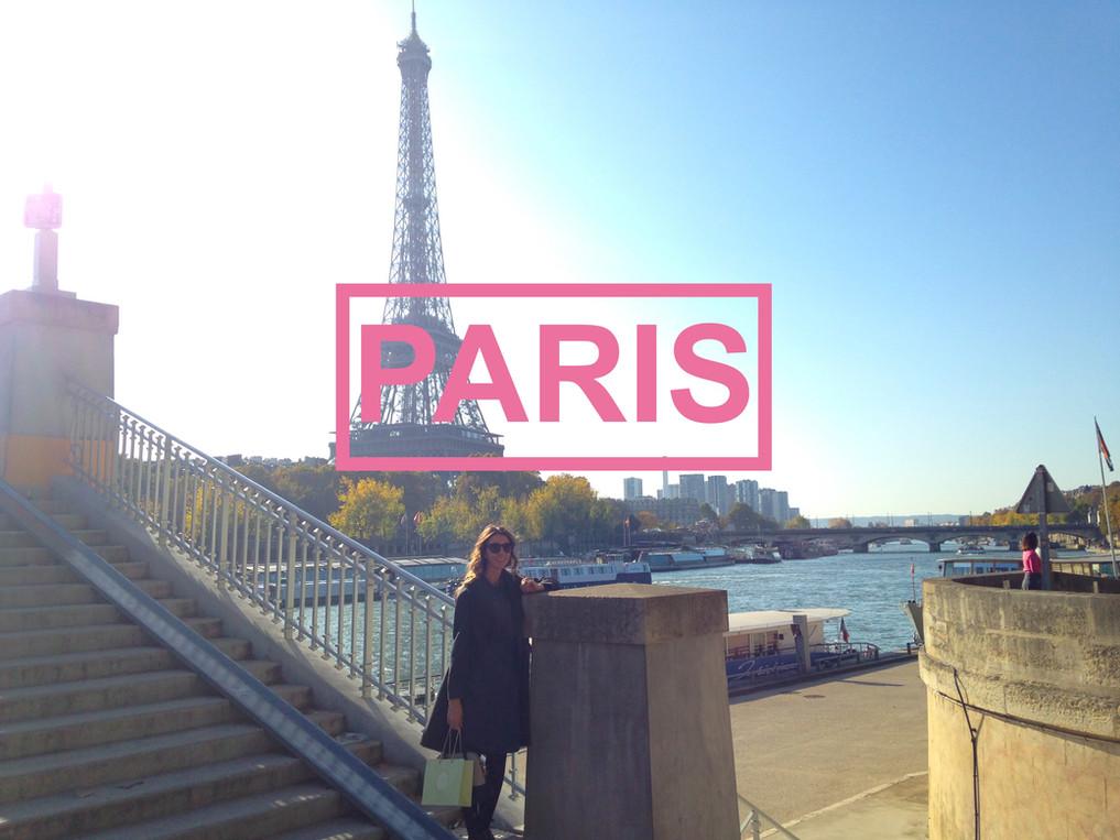 Oh the places you'll go...PARIS