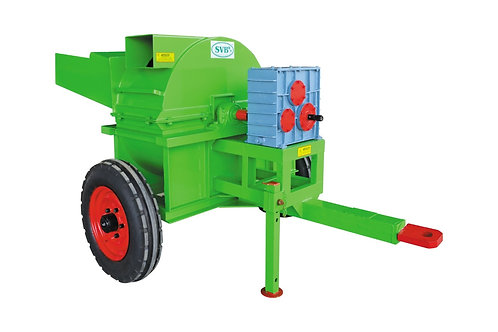 Tractor PTO Operated Shredder Cum Pulverizer Machine 15 HP – 30 HP With Tyres