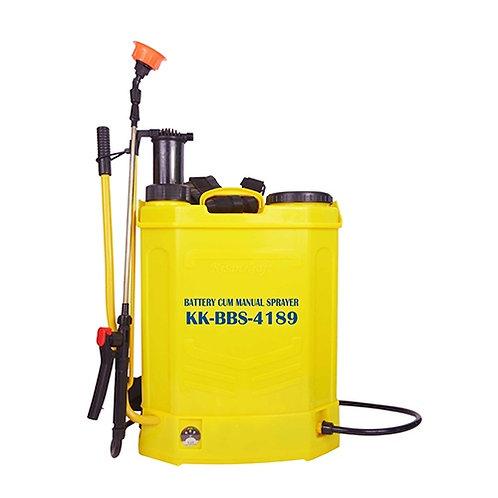 Knapsack Sprayer (Manual Cum Battery) KK-BBS-4189