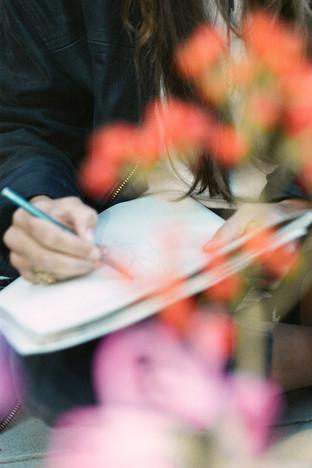 Flower Drawing x Lilla Wicki