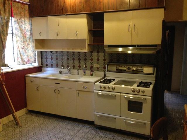 Old Kitchen Behind Bathroom & Butlers Pantry