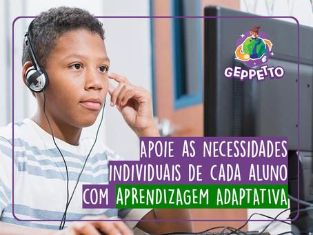 Apoie as necessidades individuais de cada aluno com Aprendizagem Adaptativa