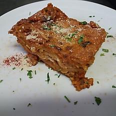 Lasagna con ragu' di seitan