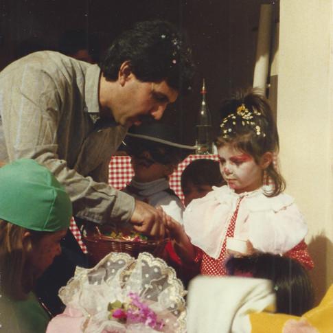 Carnevale Premazione Sfilata Maschere 1987