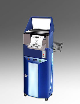 Photocopier vending machine