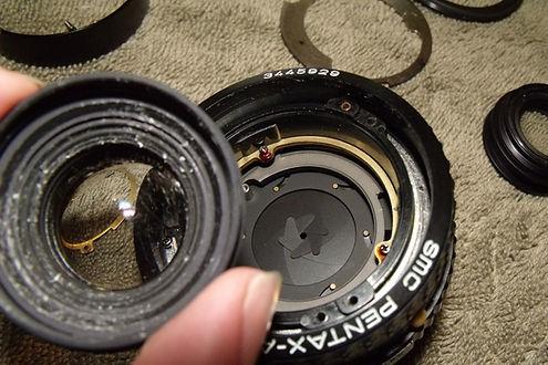 Lens cleaaning and repair