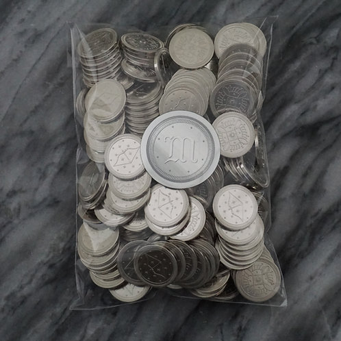 1000 Silver Fantasy Coins