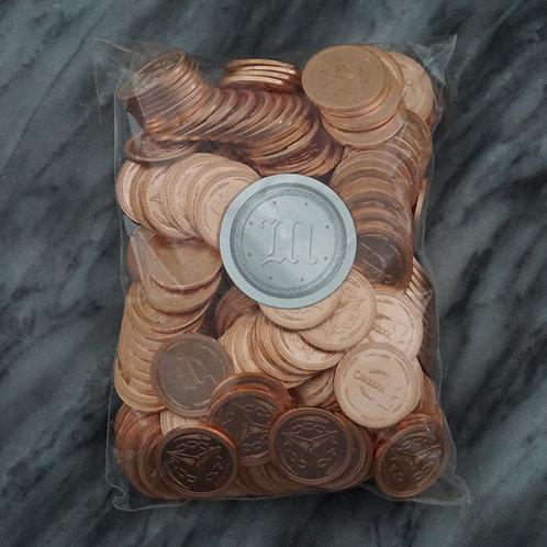 1000 Copper Fantasy Coins