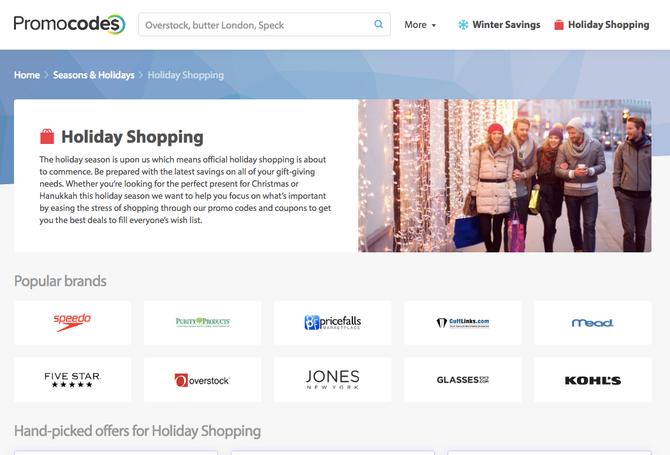 Holiday Super Affiliate Spotlight Promocodes.com!