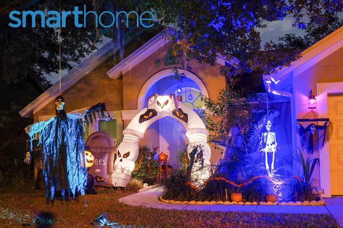 Happy Smarthome High Tech Halloween