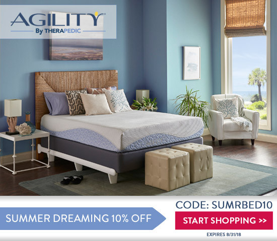 Affiliates and Influencers The Agility Bed by THERAPEDIC® is starting a Memorial Day Promotion!