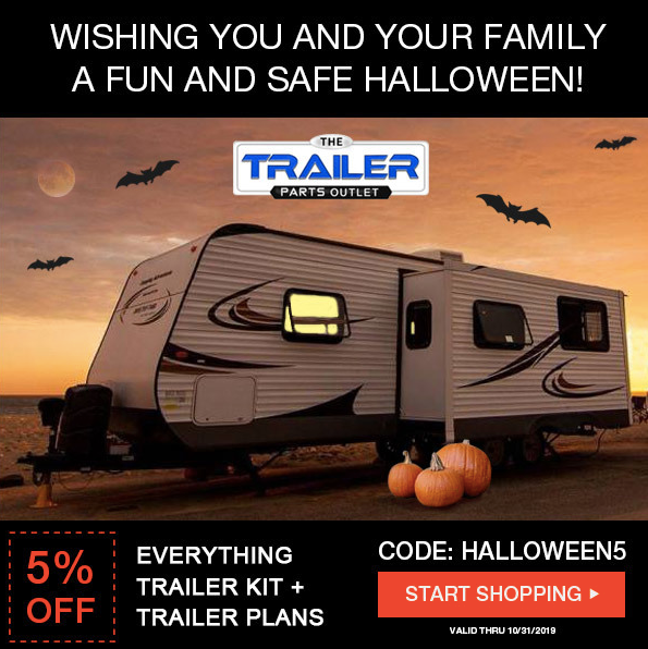 Halloween Banners + Coupon TheTrailerPartsOutlet.com