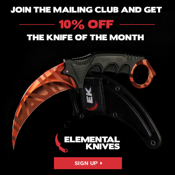 Freshie Banners for Elemental Knives Club - Program in Impact CONV 6%