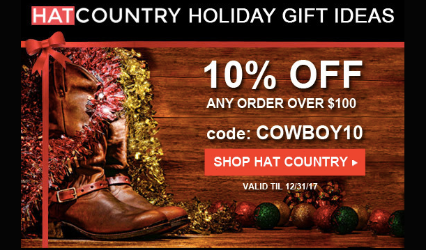 New Holiday Media for HatCountry Affiliates in LinkShare!