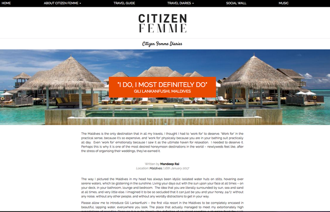Affiliate Influencer Spotlight - Citizen Femme