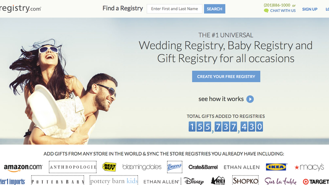 Gift Registry Websites for the Q4 WIN!