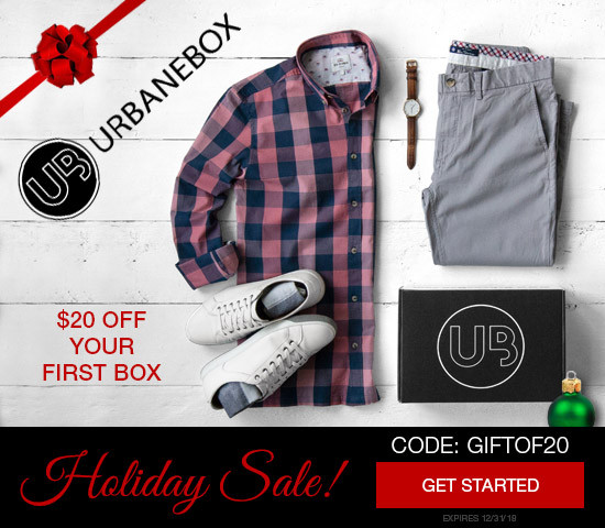 UrbaneBox Fashion Delivered for The Holidays!