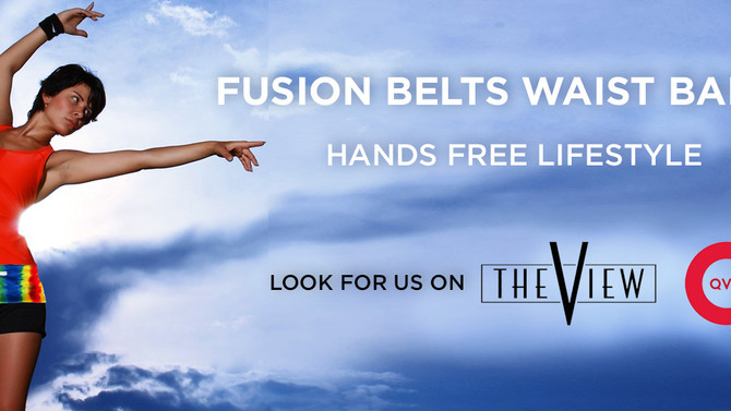 FusionBelts as Seen On QVC and on The View March 15th