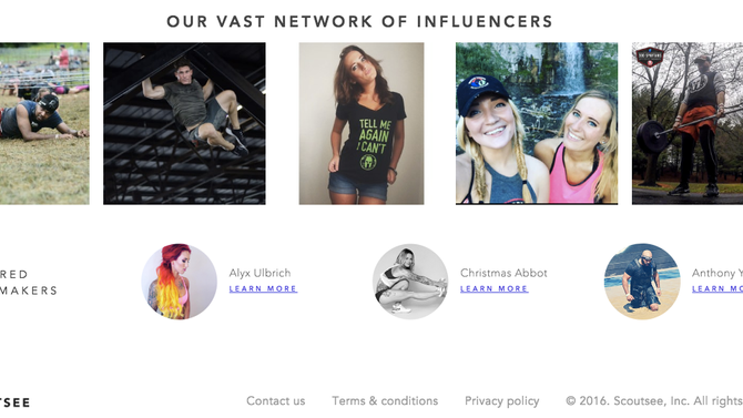 Recruiting Influencers + Affiliates to a Program
