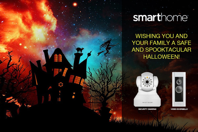 Smarthome Halloween Media Going up in the Networks!