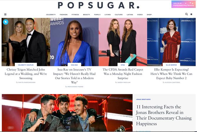 Spotlight Publisher - POPSUGAR - Celebrity - Fashion - Beauty - Fitness!