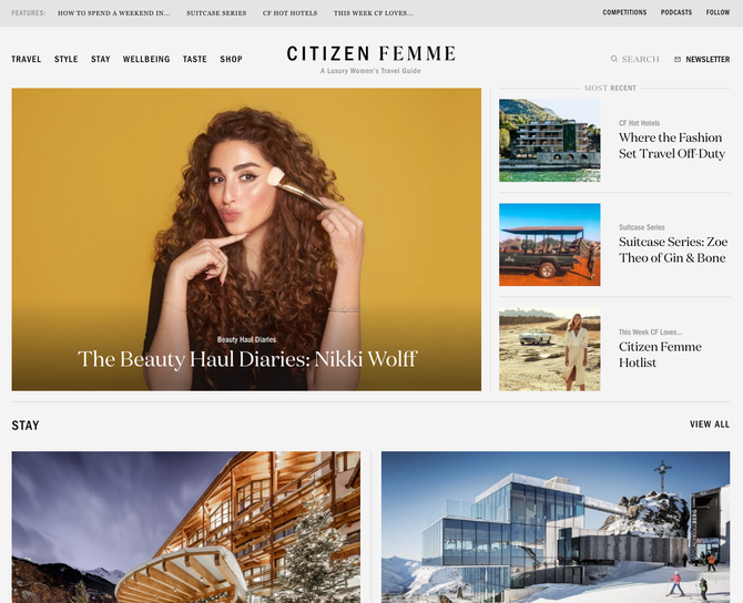 Publisher Spotlight * CITIZEN FEMME