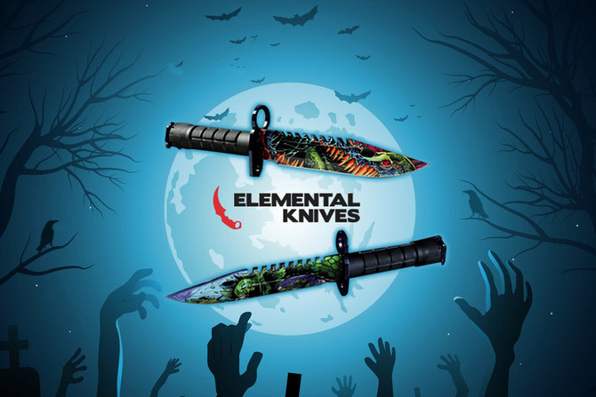Freshly Sliced Halloween Media for ElementalKnives Affiliates in Impact