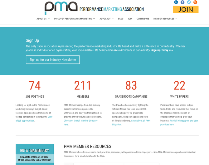What is the PMA? - Performance Marketing Association