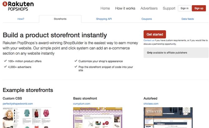 Rakuten PopShops - Affiliate Marketing Tool Spotlight!