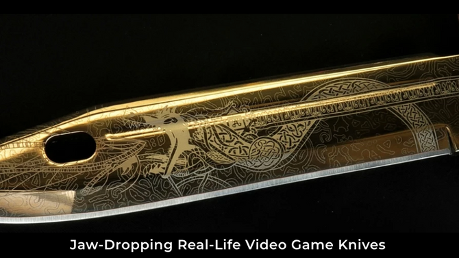 Jaw-Dropping Real-Life Video Game Knives - Elemental Knives in Impact