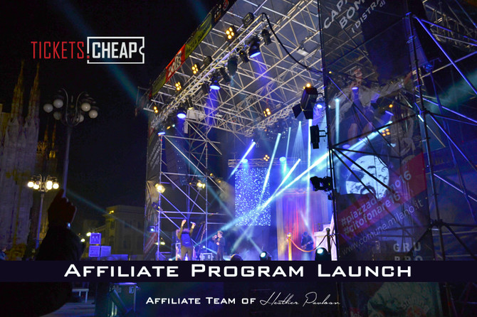 Tickets.Cheap New Affiliate Program Launch