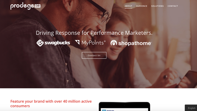 MyPoints - SwagBucks - ShopatHome - reaching 40 Million+ Active Consumers