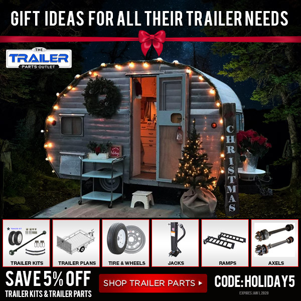 New Holiday Media and Coupons for TheTrailerPartsOutlet.com Partners!