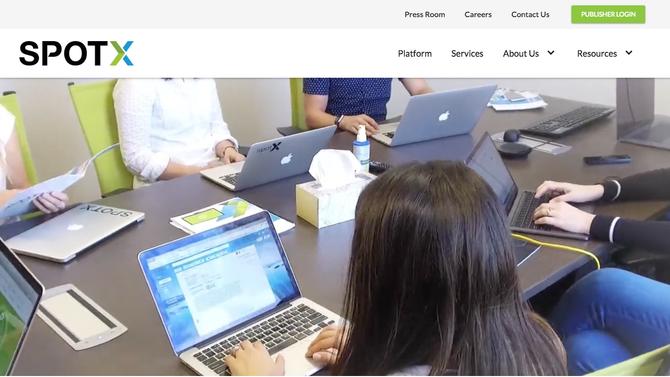 SpotX Video Publisher Advertising Platform *Spotlight