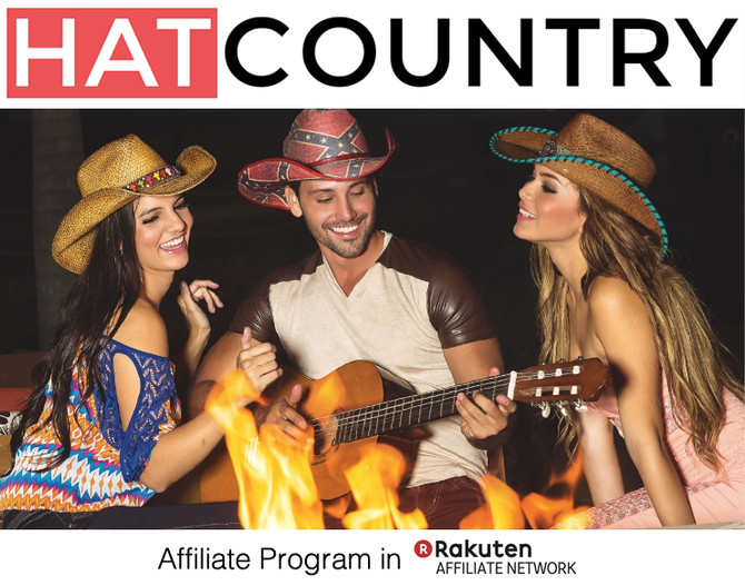HatCountry.com New Rakutan LinkShare Affiliate Program Launch!