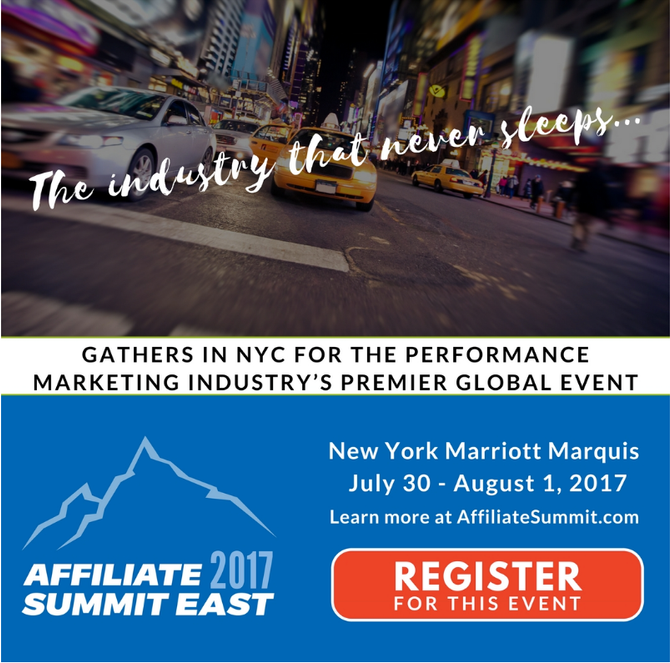 Want to meet at Affiliate Summit? #ASE17 Heather Paulson is speaking at this event!