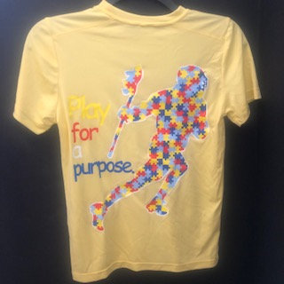 Autism Puzzle Player Tee (Yellow)