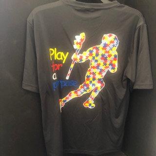 Autism Puzzle Player Tee (Gray)