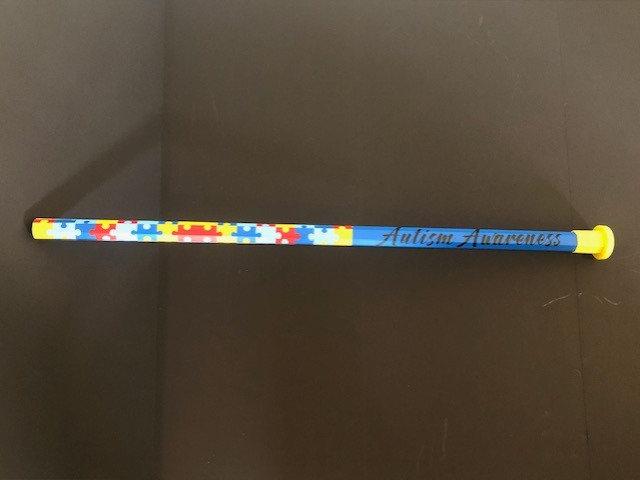 Autism Solid Carbon Fiber Puzzle Shaft w/Rocket Mesh Tape Saver End