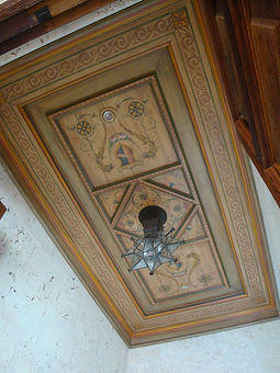 Cypress Ceiling -Design and Painting By