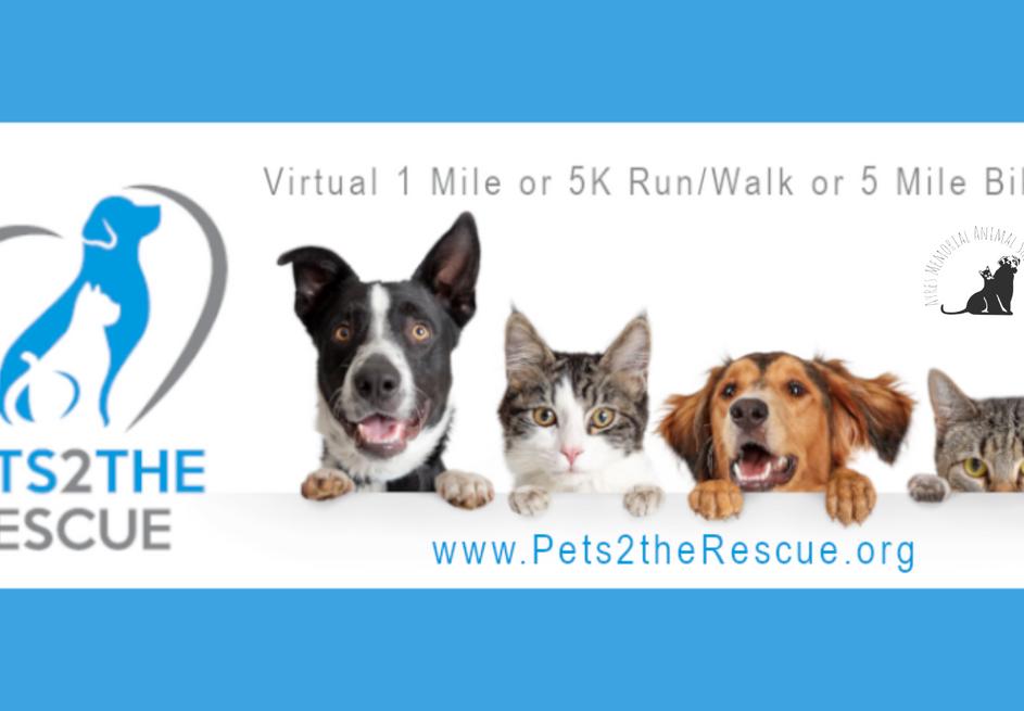 Pets 2 The Rescue Virtual Run/Walk/Bike