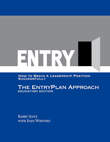 Entryplan Approach: How to Start a Leadership Position Successfully
