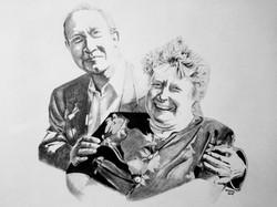 Kim's parents, Staedler on Daler Rowney