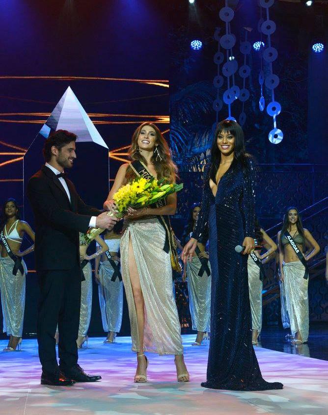 Miss Ceará 2017, Aléxia Duarte, com a Miss Brasil 2016, Raissa Santana - Foto Maristela Colucci
