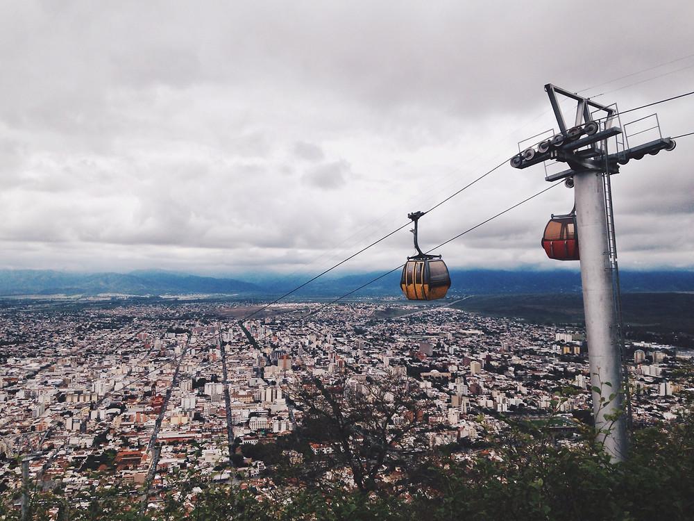 Teleférico San Bernardo - Salta, Argentina