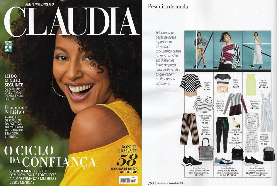 Revista Claudia - Novembro de 2018