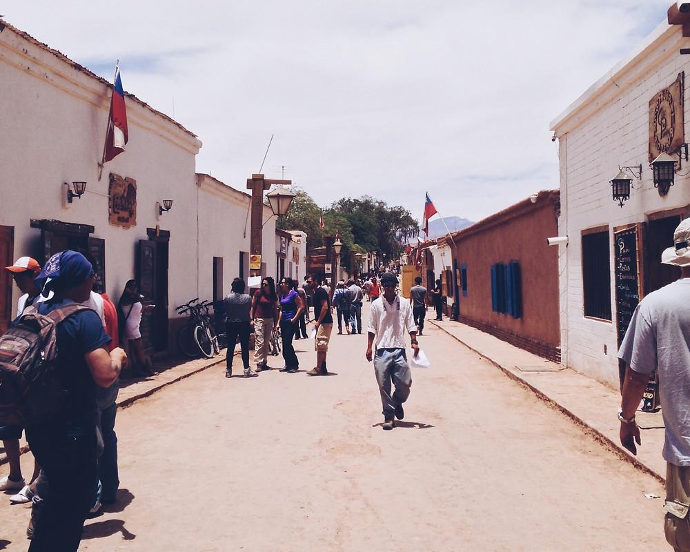 Calle Caracoles - San Pedro de Atacama, Atacama   | Austral Acessórios |